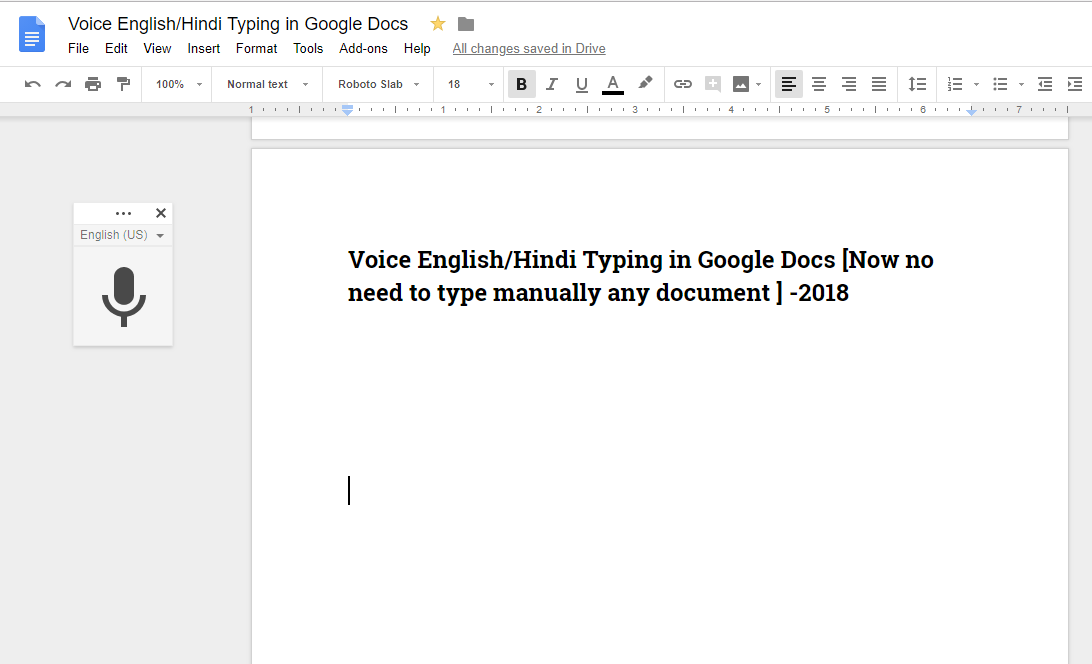 voice typing in hindi english in google docs now no need to type
